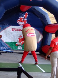 Ketchup in the speed pitch