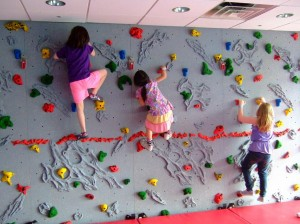 kids' rock wall