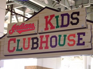 Kids Clubhouse sign