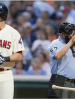 Indians Bats Go Cold on Hot Night