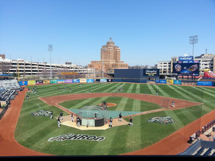 Canal Park has always offered a picturesque backdrop to a baseball game.