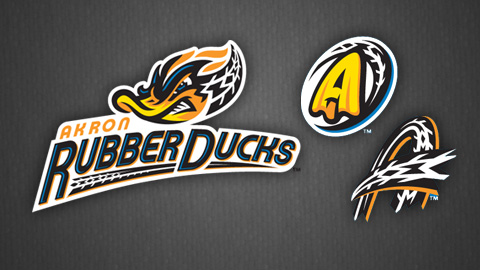 The RubberDucks logo seeks to capture the spirit of Akron's heritage and the creativity of Minor League Baseball.