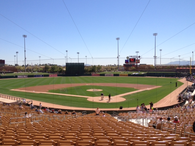 Camelback Ranch, home to the White Sox and Dodgers, in Glendale, AZ