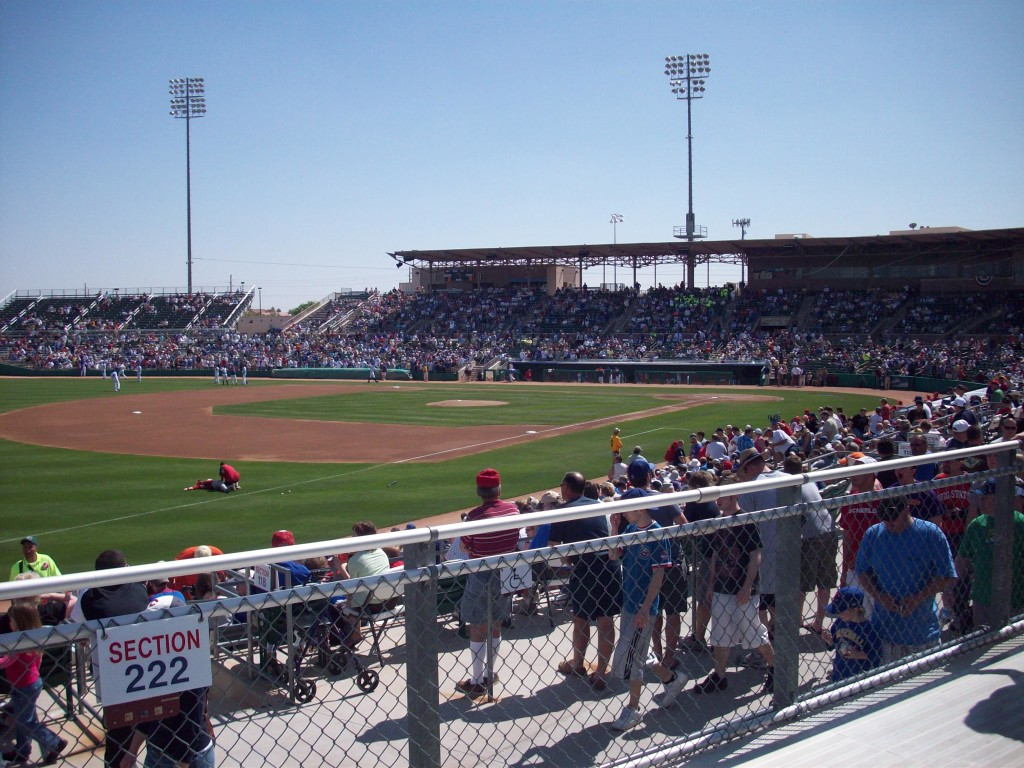Hohokam Park when the Cubs still called it home. The Athletics will be there starting this spring.