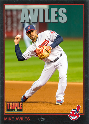 Mike Aviles 1993 Triple Play