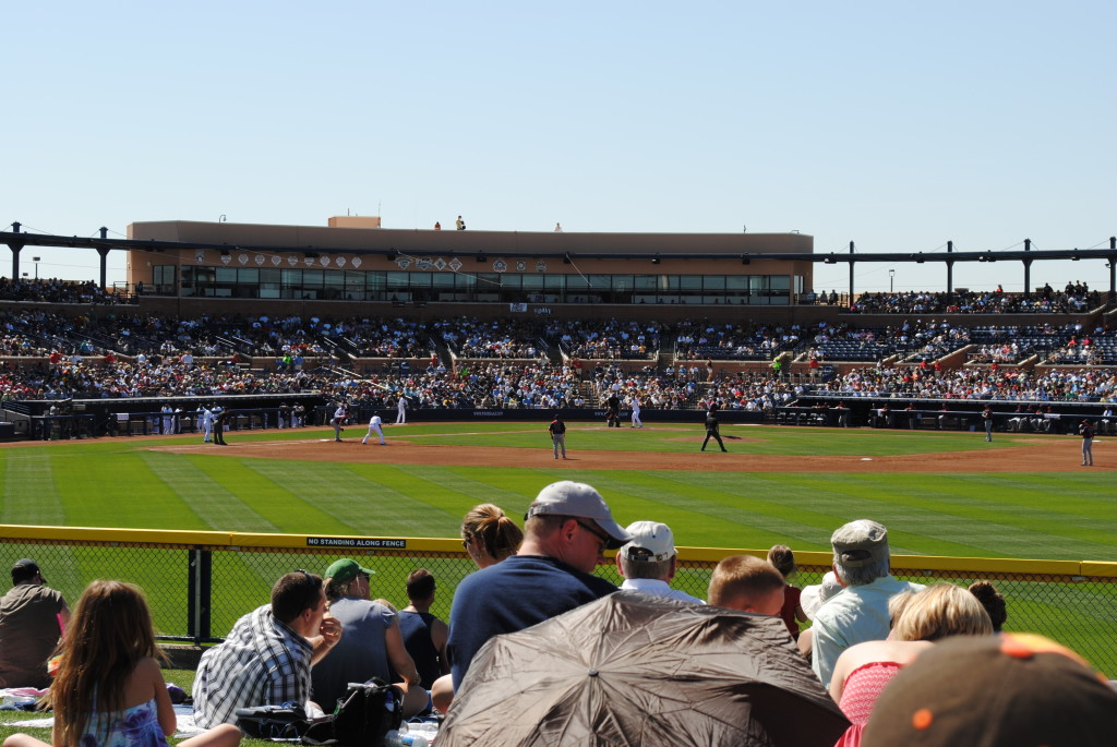 Peoria Sports Complex, home to the Mariners and Padres, in Peoria, AZ.