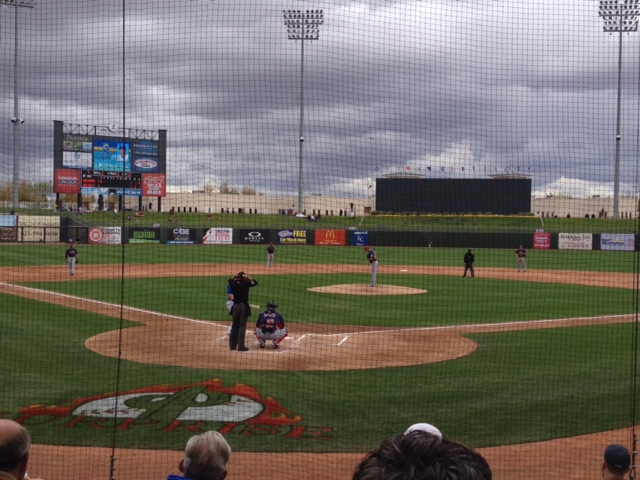 Surprise Stadium, home to the Royals and Rangers, in Surprise, AZ.