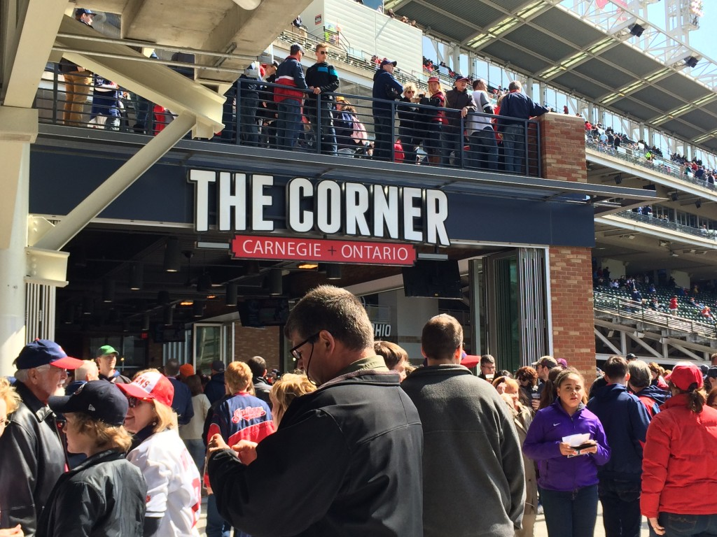 The Corner - the new right field bar