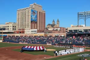 Home Opener in Akron - 4.14.16