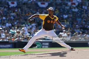 during the SiriusXM All-Star Futures Game at PETCO Park on July 10, 2016 in San Diego, California.